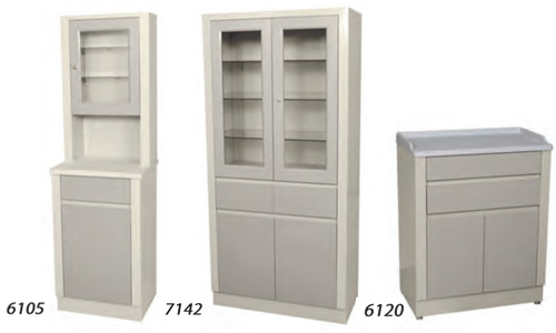 Treatment and Supply Cabinets
