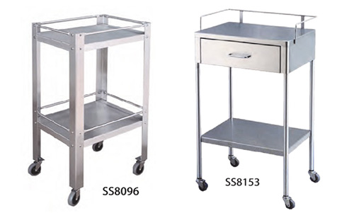 Stainless Steel Utility Tables