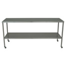 SS8000 utility-table-stainless-steel-with-shelf
